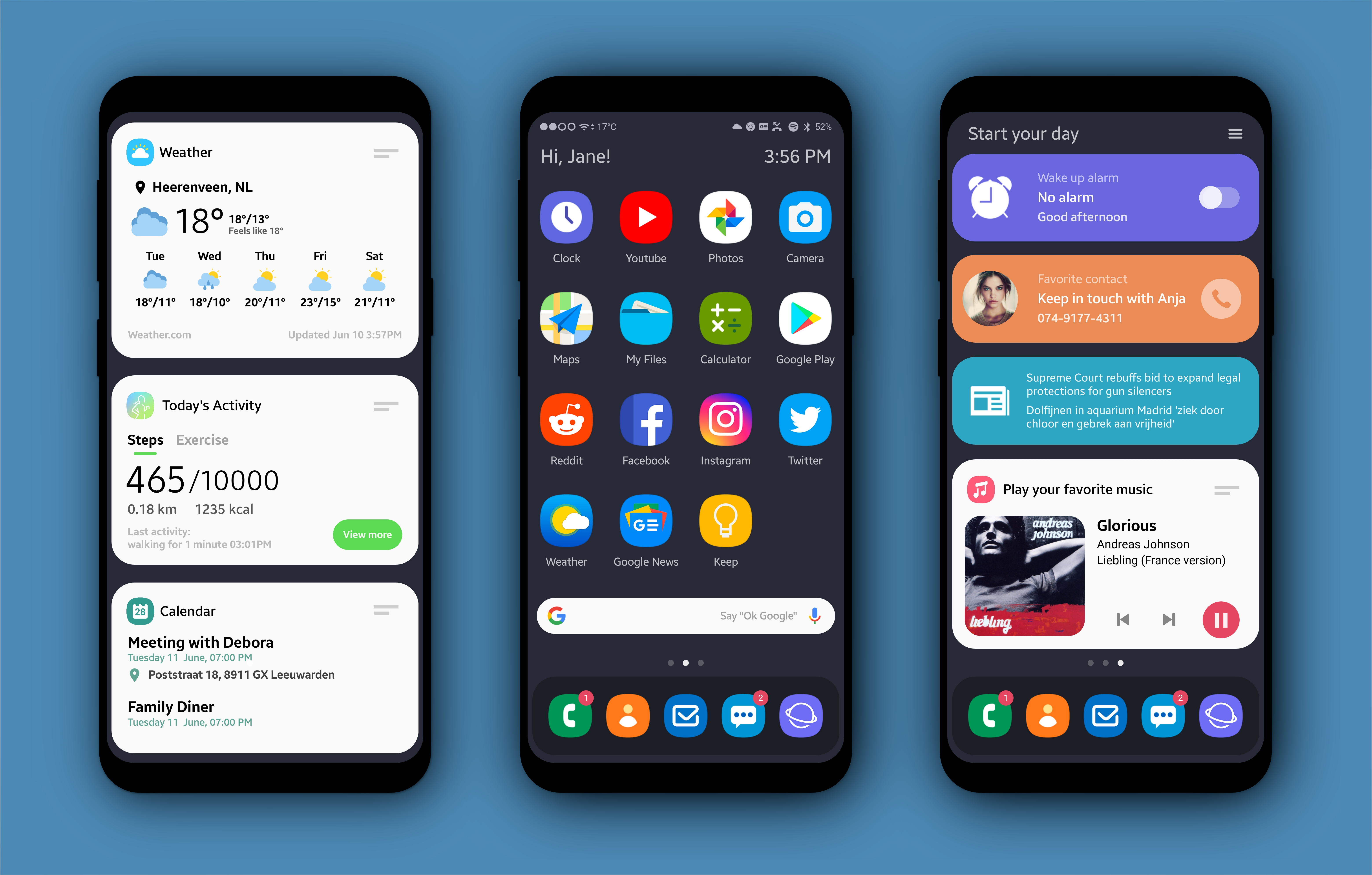 KLWP Theme Phone themes, Hd phone wallpapers, App design