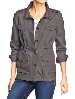 Women's Military Style Jackets | Old Navy (With images