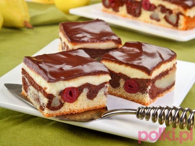 Ciasto Kakaowe Przepis Na Ciasto Polki Pl Recipe Baking Sweets No Bake Cake Cake Recipes