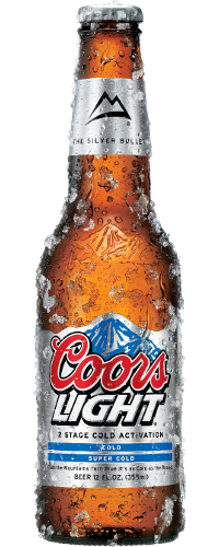 """Coors Light - I gave up the heavier beers- etc a few years ago. I still like the occasional Ale or Guinness but- I suggest Coors Light. Impossible to get drunk on it but its refreshing and nice ....and nice on the waist-line,,,,or so they say pft! Never thought Id ever touch a """"light"""" beer."""