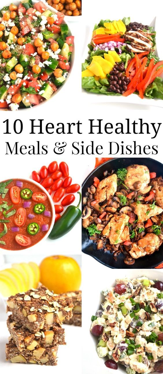 10 Heart Healthy Meals and Side Dishes images