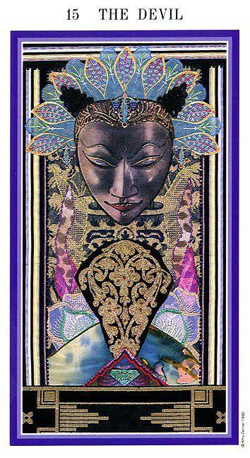 Zerner Faber Enchanted Tarot The Devil