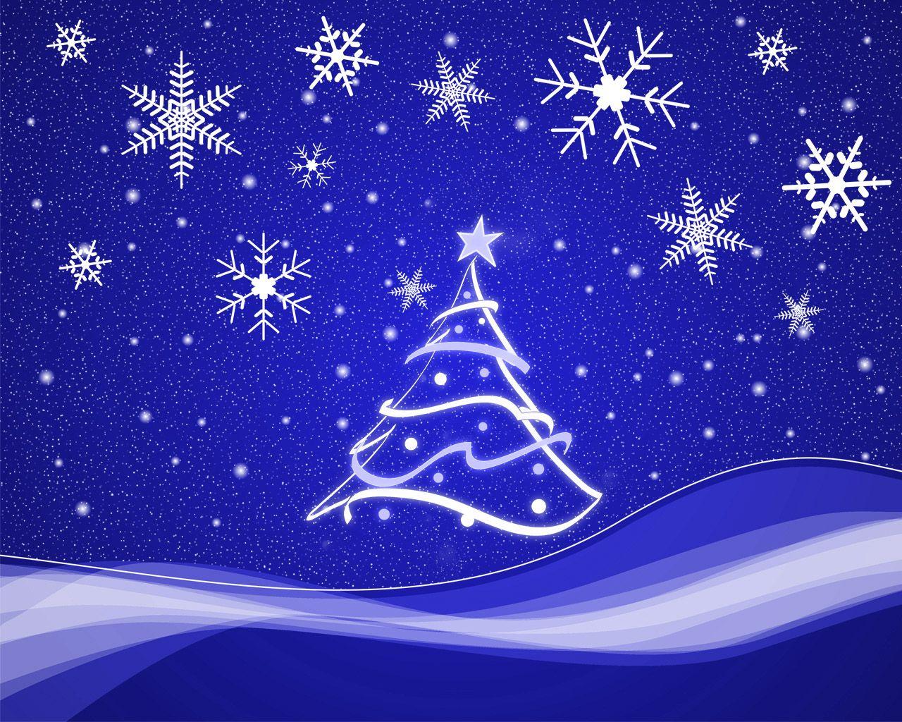 Christmas Snowflakes Christmas Wallpaper Hd Christmas Tree Wallpaper Christmas Card Templates Free