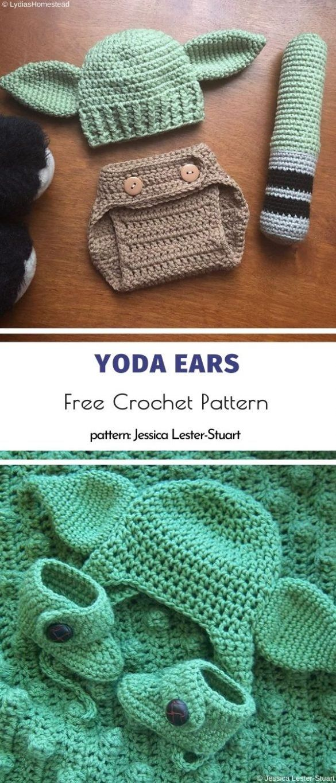 Yoda Inspired Crochet Projects