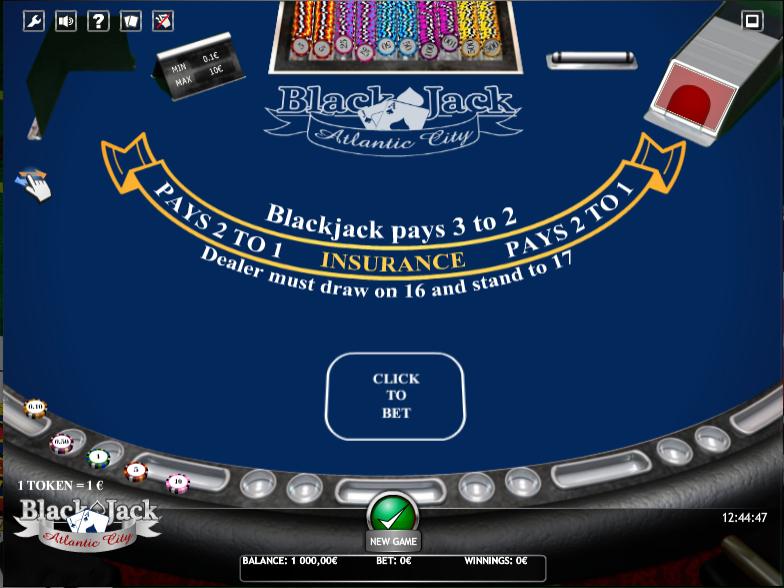 Jackson rancheria blackjack rules
