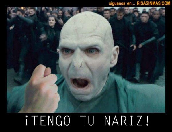 Tengo Tu Nariz Harry Potter Funny Harry Potter Memes Harry Potter