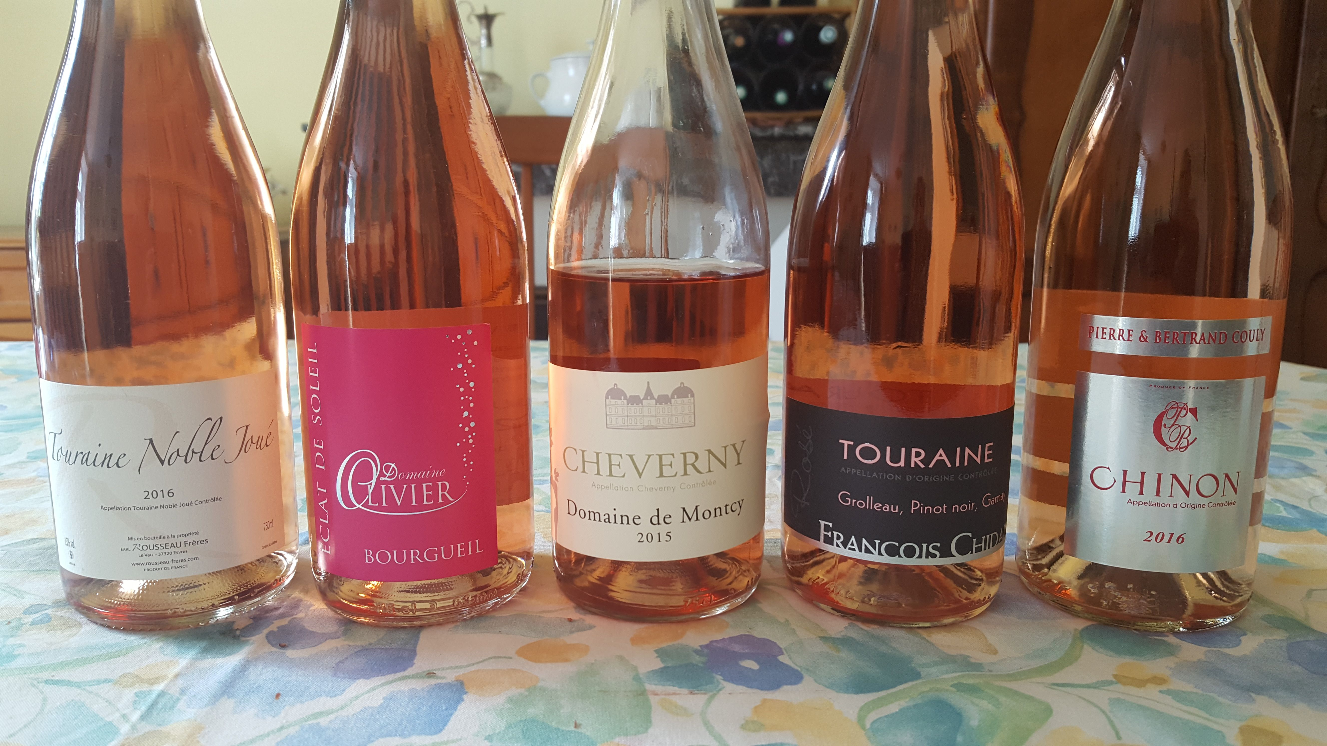 A Selection Of Loire Valley Rose Wines Summer Winter Anytime