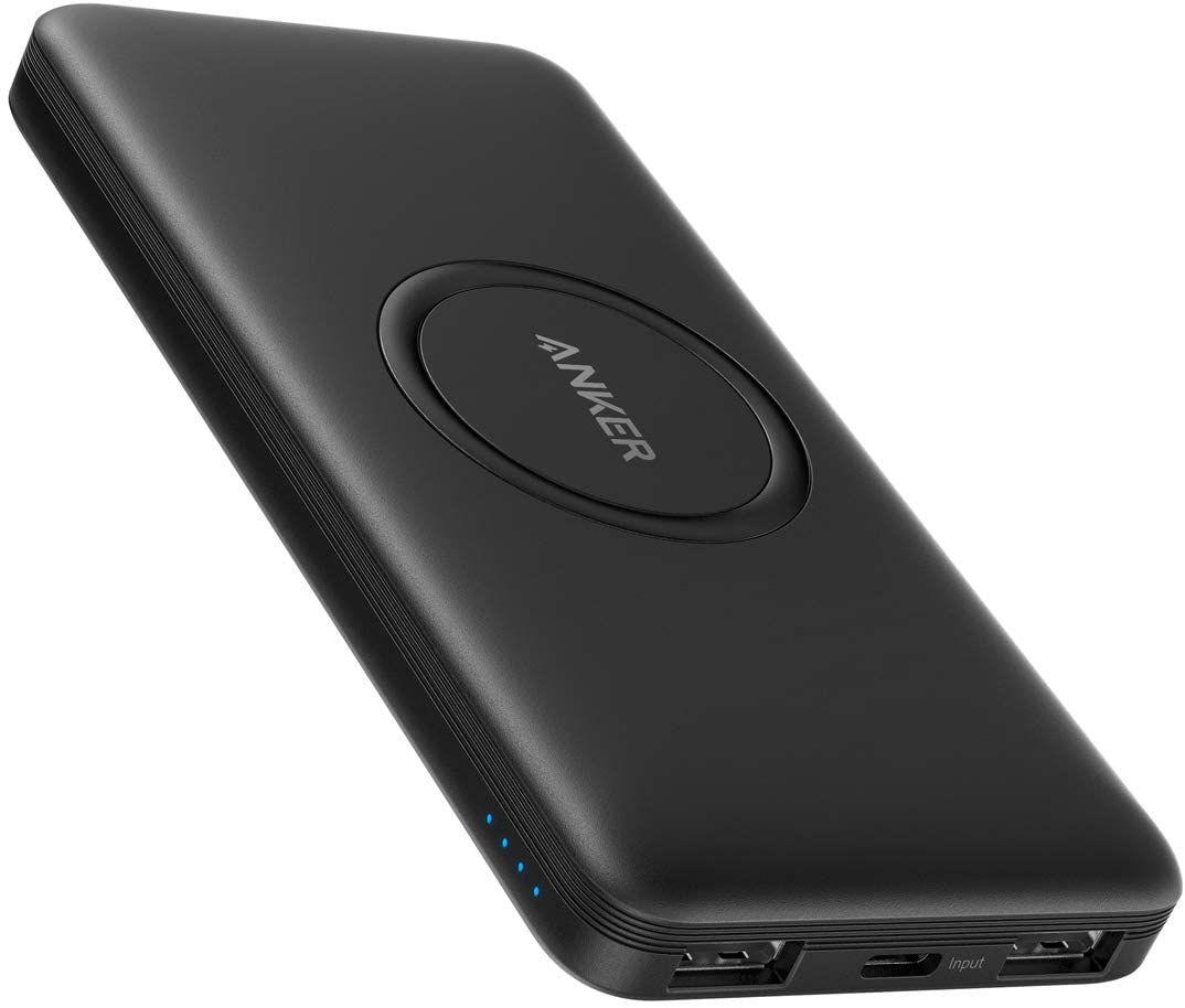 Anker Powercore 10000mah Wireless Powerbank Mit Usb C Eingang Externer Akku Hohe Kapazitat Kompatibel Mit Iphone 11 Samsung Ipad In 2020 Usb Anker Powercore Ipad