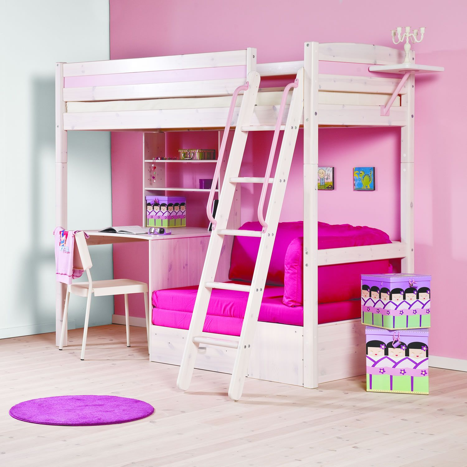 Thuka trendy 29 high sleeper next day delivery thuka for High sleeper bed