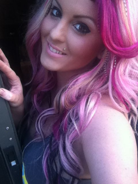 Hot Pink Pastel Pink Hair Extensions Feather Extensions Pretty Make