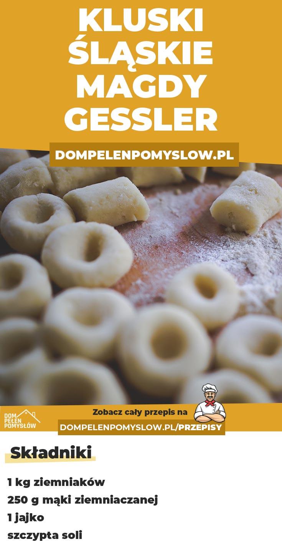 Kluski Slaskie Magdy Gessler Culinary Recipes Recipes Yummy Food