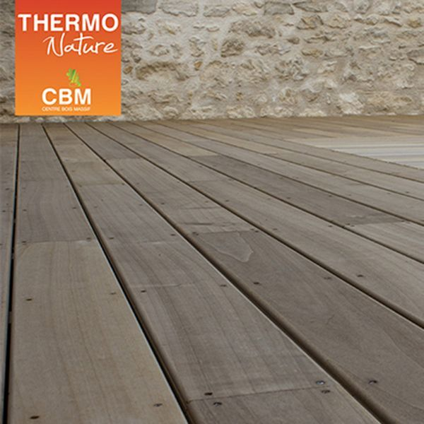 Lame De Terrasse Thermo Chauffé Peuplier 90x21mm Get Out