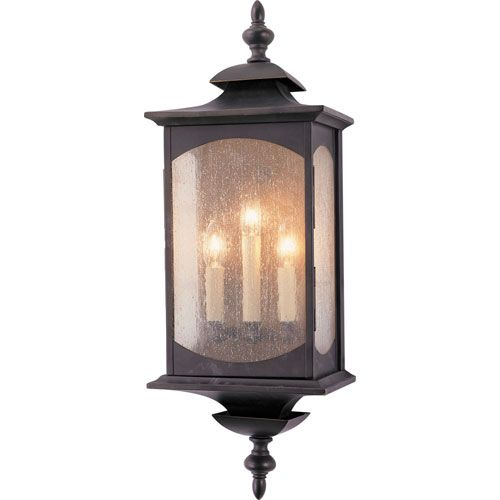 Murray Feiss El Nido: Feiss Market Square Large Outdoor Wall Mount Ol2602orb