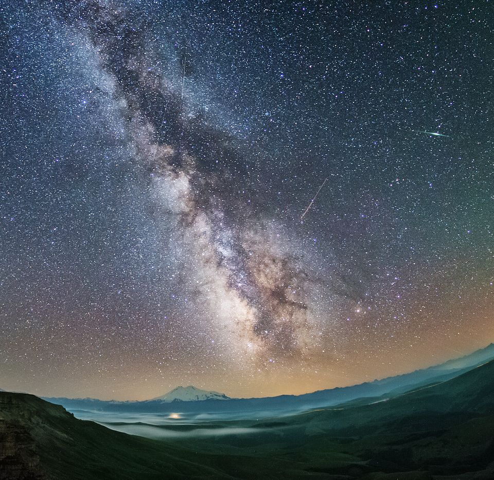 Фото млечного пути на небе
