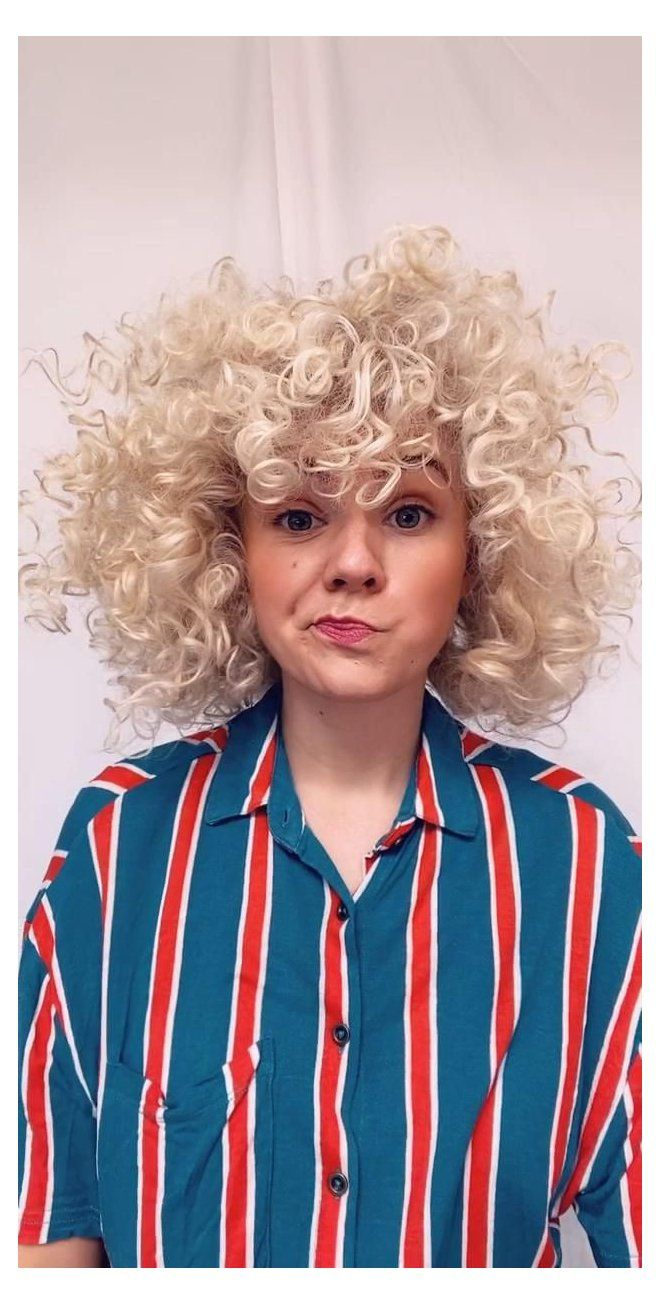 caucasian curly hair care videos