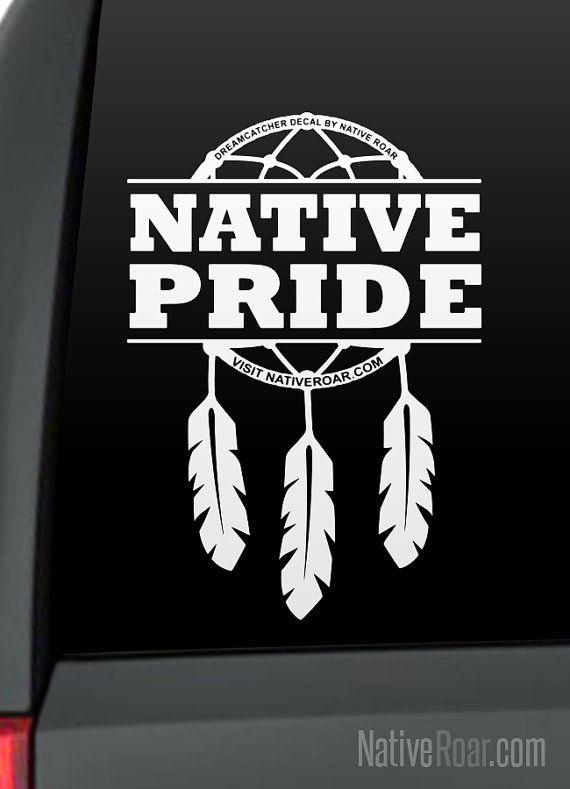FEATHER Vinyl Decal Car Window Wall Bumper Macbook Laptop Native Indian Symbol