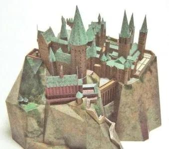 Hogwarts Castle Papercraft Mypapercraft Net Harry Potter Castle Hogwarts Hogwarts Castle