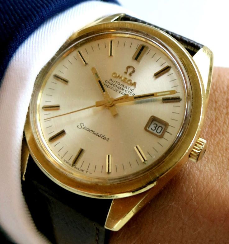 23729d29c8e Beautiful  Omega  Seamaster Chronometer with date - 36mm oversize. For more  information