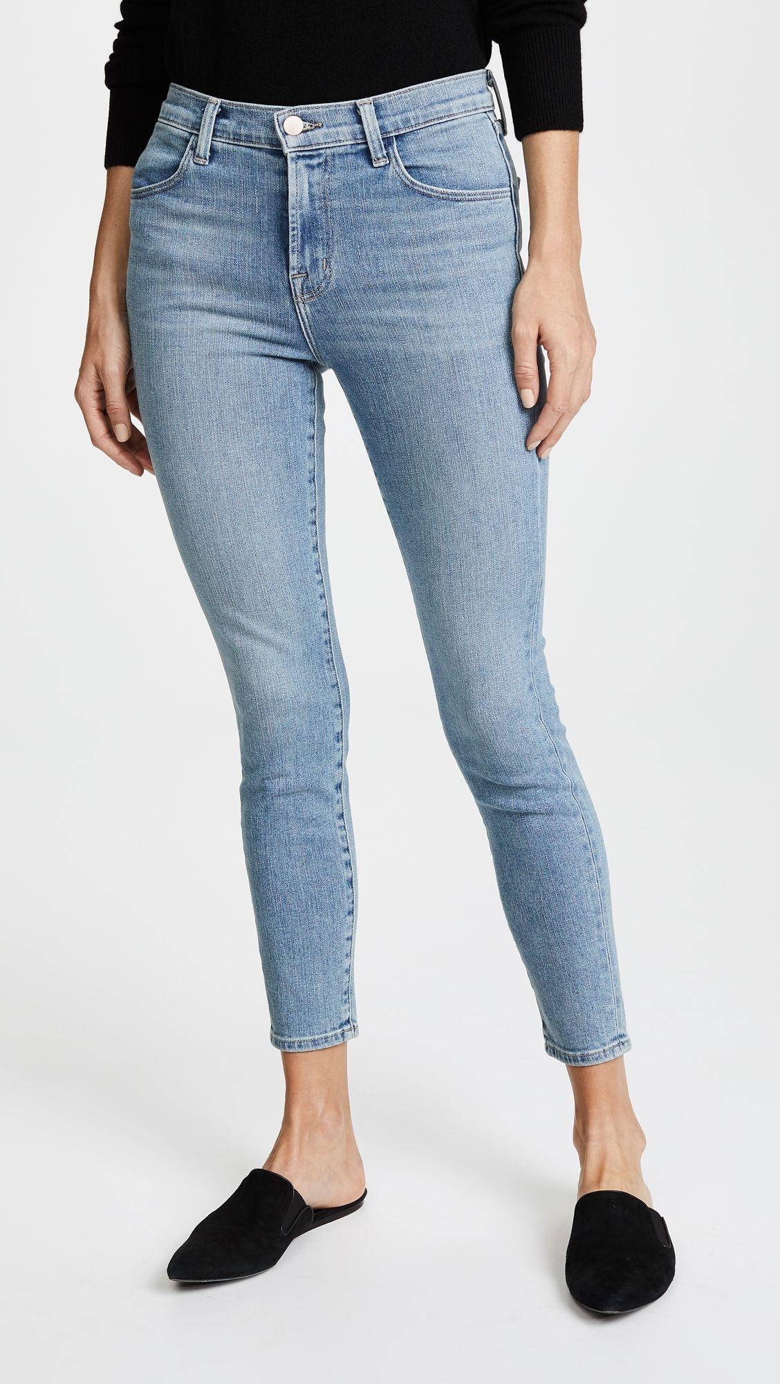 d3ab8851d154d J Brand Alana High Rise Crop Skinny Jeans