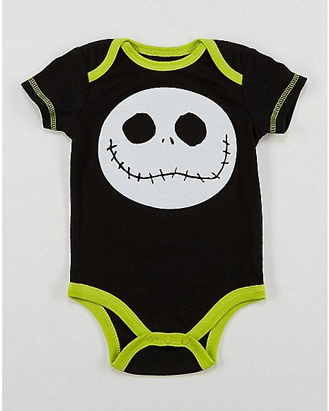 nightmare before christmas jack baby bodysuit spencers baby boy accessories christmas baby shower