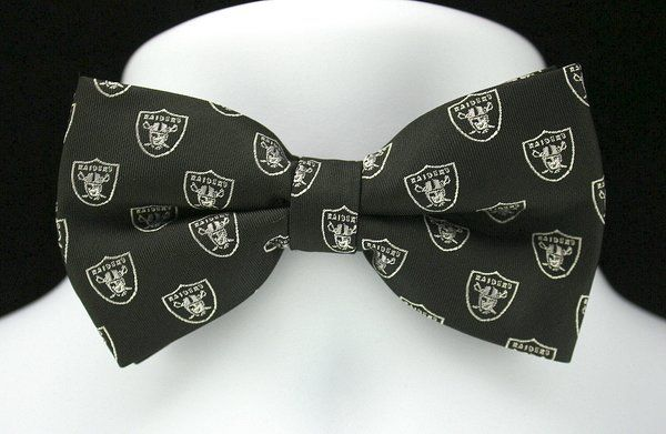 f8b0f39d NFL Oakland Raiders Bow Tie | Ties Just For You | NFL: Oakland ...