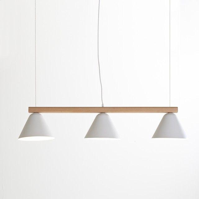 Lámpara de techo alargada Cotapi. Inspirada en el estilo industrial ...
