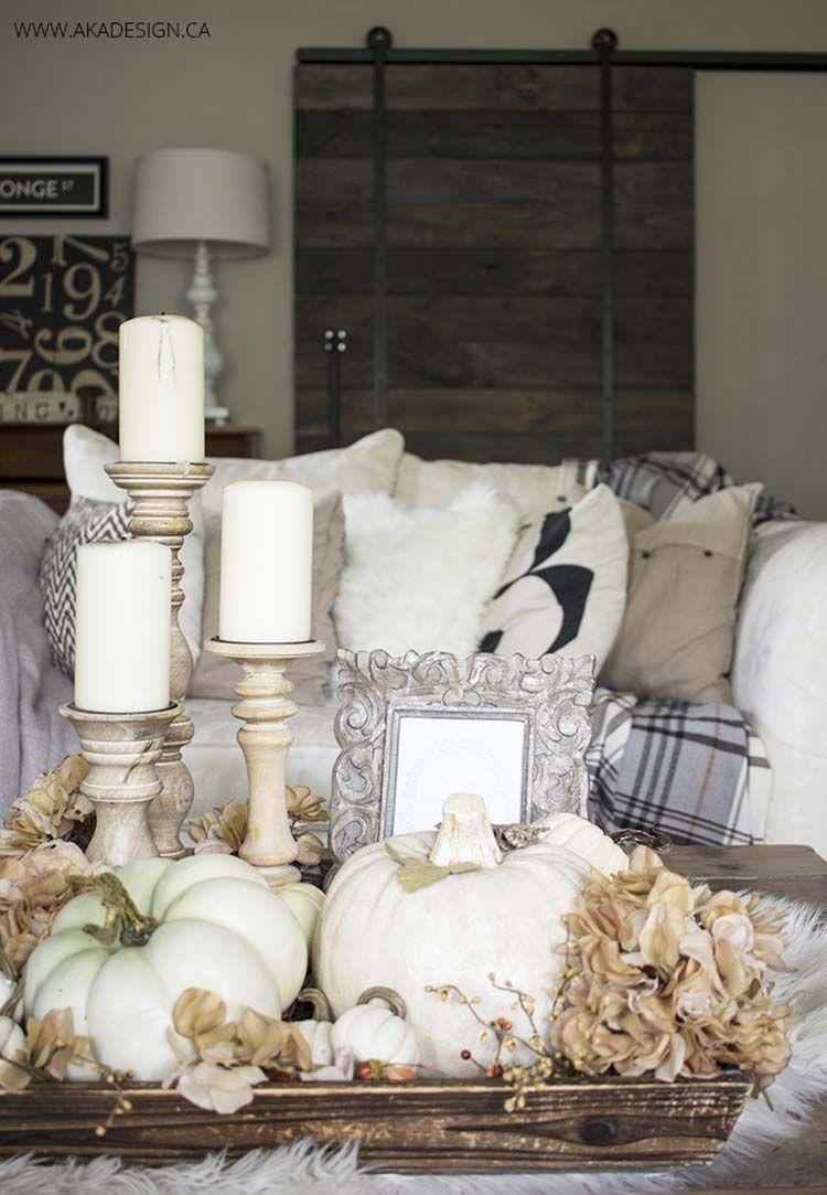 31 Amazing Fall Decorating Ideas Using White Pumpkins Fall Home