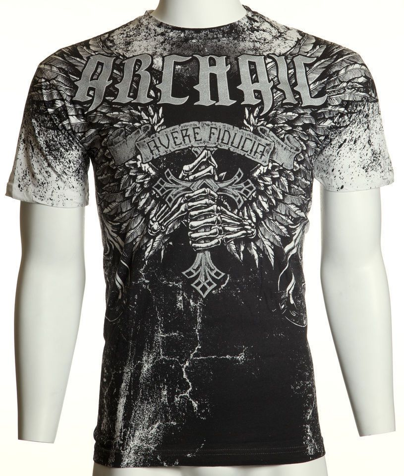 Archaic Affliction. Men's T-shirt. I have this shirt and it looks very cool.  The front view.