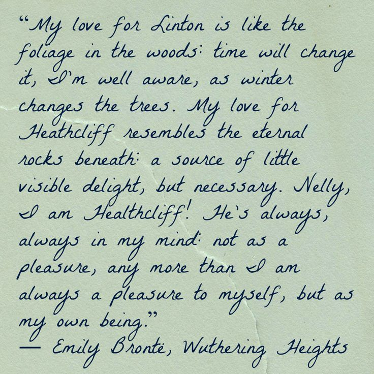 Charming Life Pattern Wuthering Heights Emily Bronte Quote My