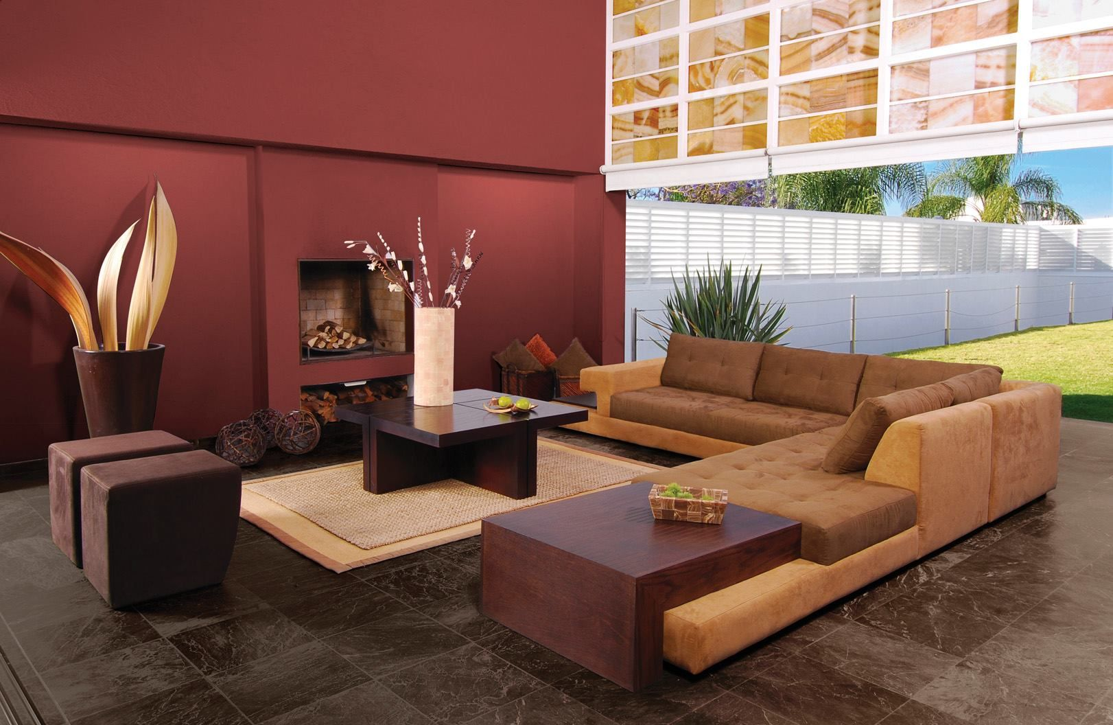 paredes terracota | Sala y comedor | Pinterest | Terracota ...