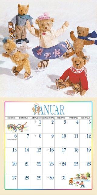 Der Teddybär Kalender Kalender 2015 - günstig kaufen bei Starkalender.de!