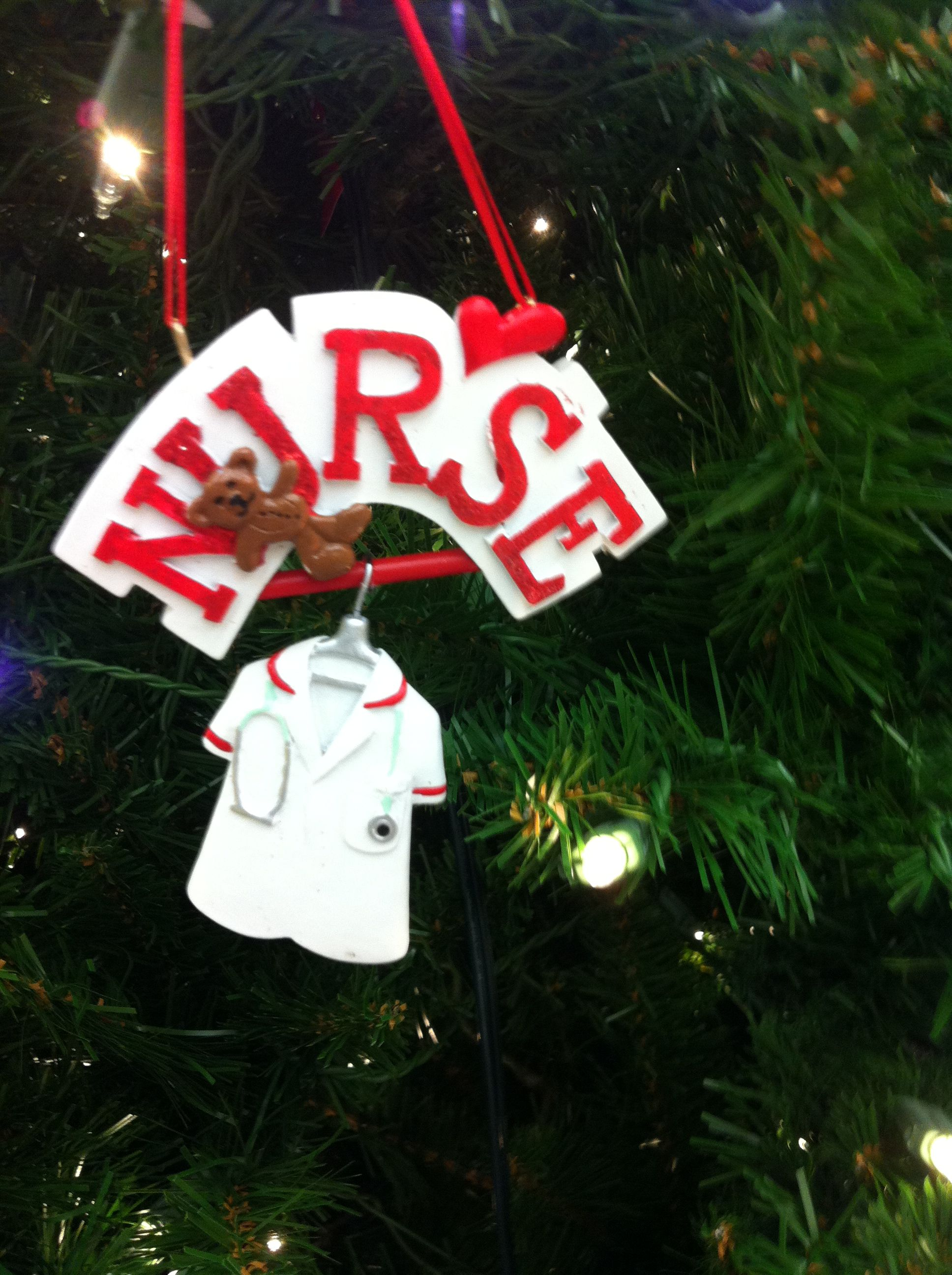 ornament found at Hobby Lobby | nurse pinning ceremony ideas ...