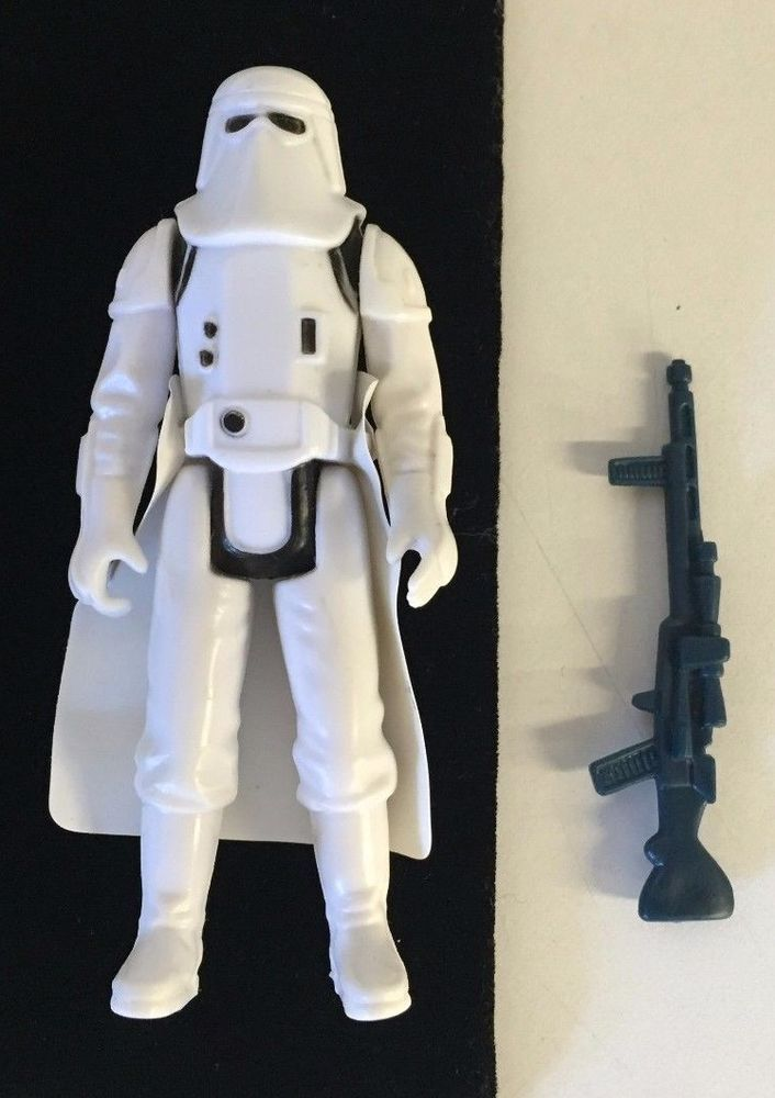 HOTH Vintage Star Wars Figure Weapon Stormtrooper - Good Condition