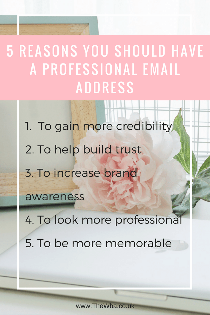 How To Create A Professional Email Address How to