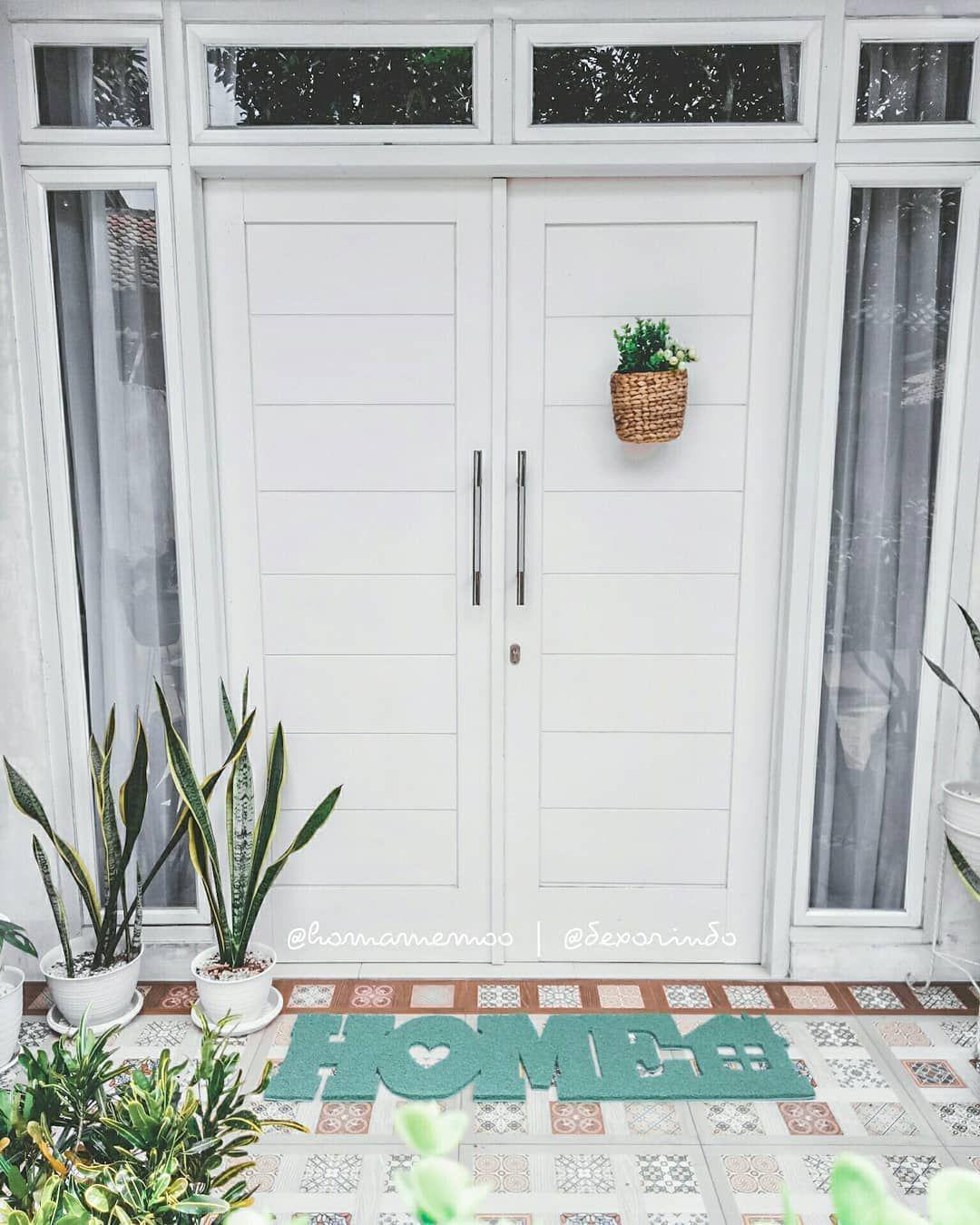11 Model Pintu Rumah Minimalis 2 Pintu Terbaru 2020 Dekor Rumah Rumah Minimalis Rumah Fasad Rumah Modern