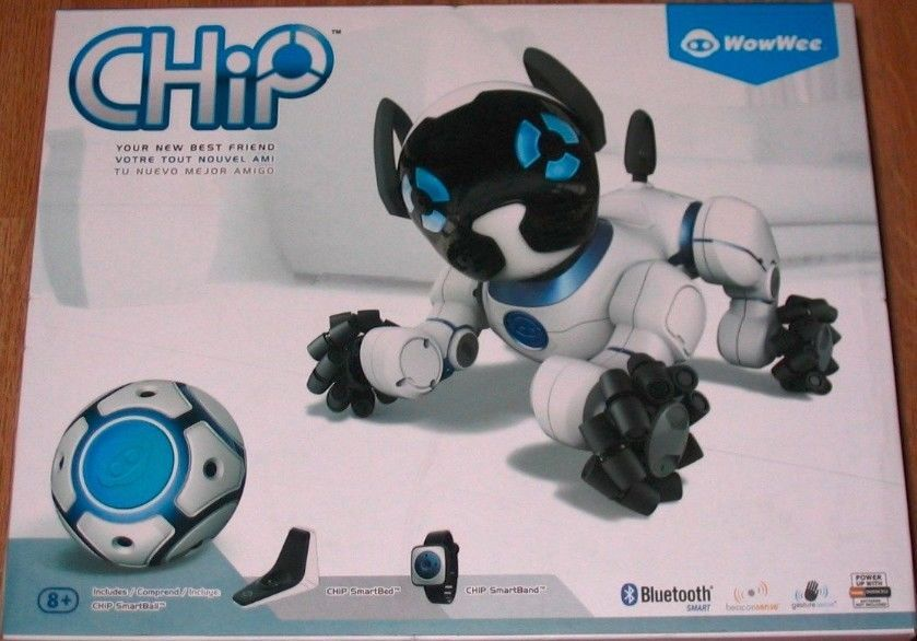 Wowwee Chip Robot Toy Dog White Brand New Toys Dog Toys