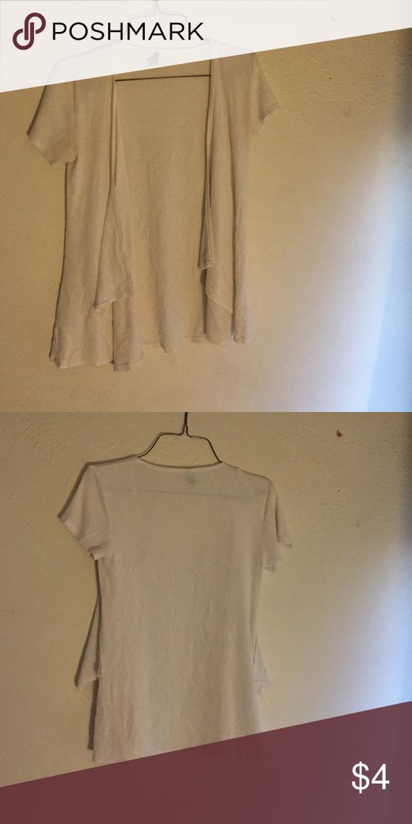 Charlotte Russe short sleeve cardigan Short sleeve cardigan. Great condition Charlotte Russe Sweaters Cardigans