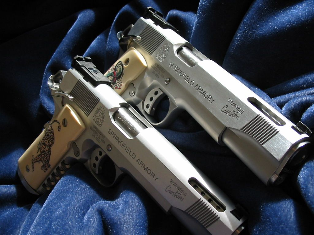 pair of custom 1911's