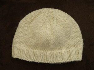 Tricot Et Crochet · Bonnet facile bébé 0-12 mois (1-2 ans). Aig N 8dd6610f448