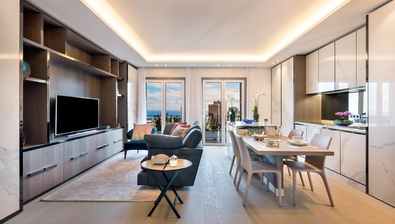 Apartment A Monaco Carte Blanche Design Monaco Apartment