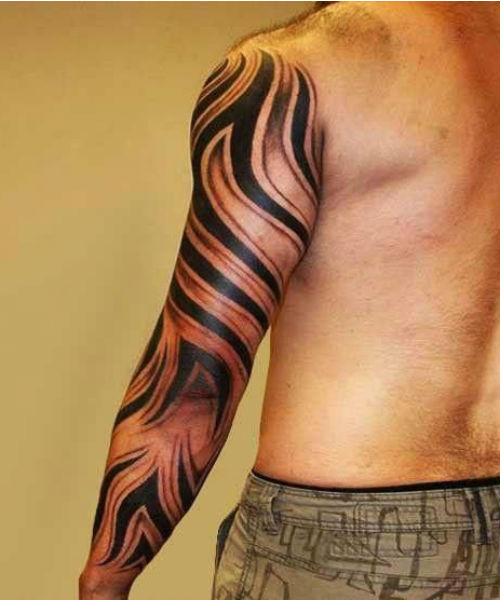 Glorious Full Sleeve Tribal Tattoos For Men To Look Hot This Summer Sleeve Tattoos Full Sleeve Tattoos Tribal Sleeve Tattoos