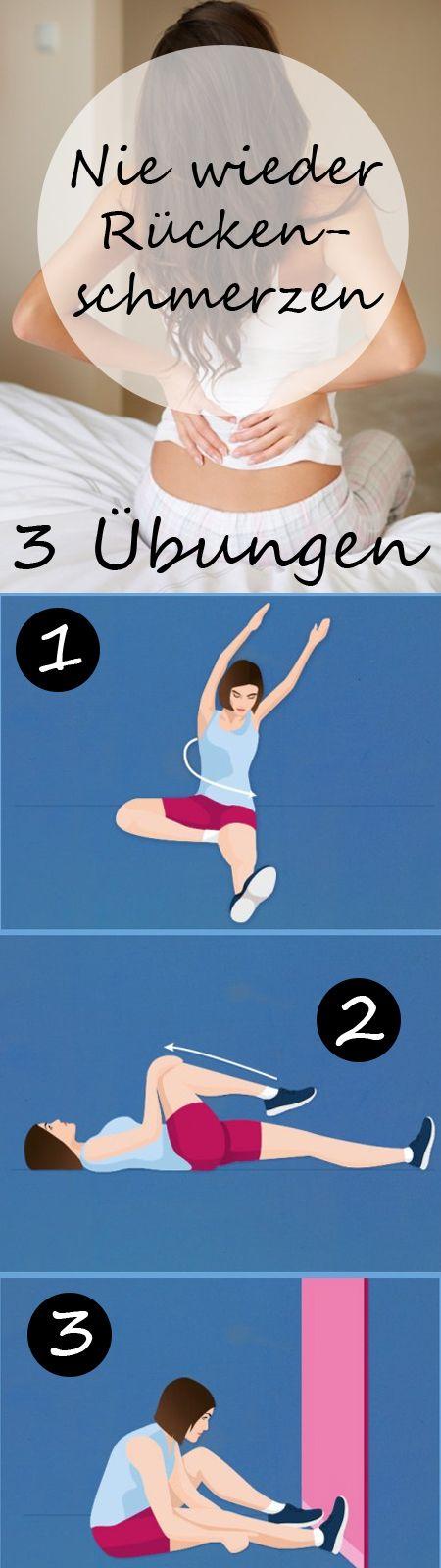 Osteopathie: 3 Übungen für den Rücken | Pinterest | Übungen für den ...