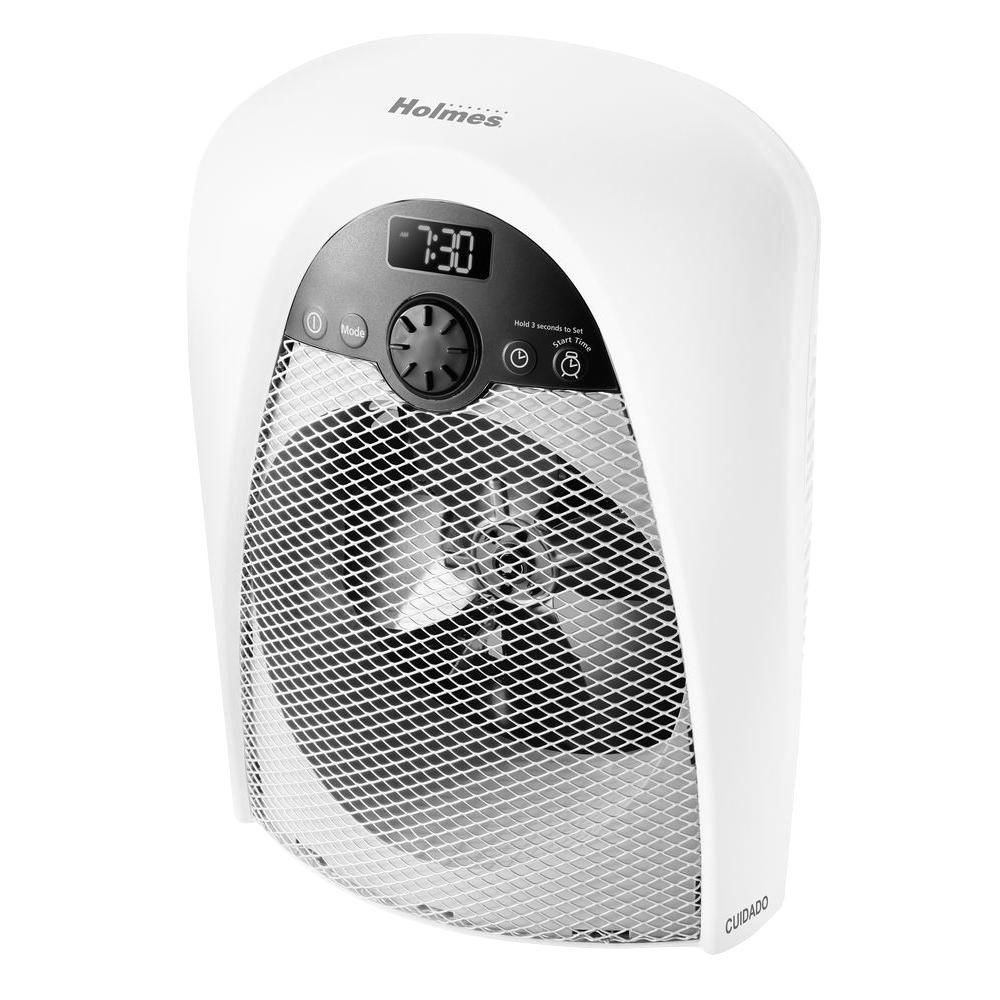 Holmes Bathroom Safe Fan Portable Heaterhfh436Wglum  Home Depot Custom Small Space Heater For Bathroom Review
