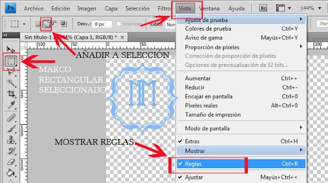 Crear motivos en Photoshop: Cuadro Vichy | fhotoshop | Pinterest ...