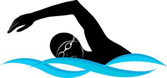 swimming clip art vector