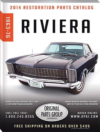 2014 Opgi Riviera Catalog Buick Riviera 1965 Buick Riviera Buick Cars