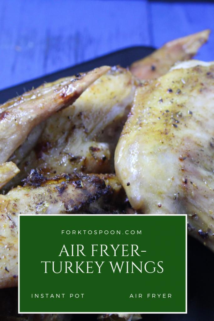 Air FryerAir FriedTurkey Wings Recipe (With images