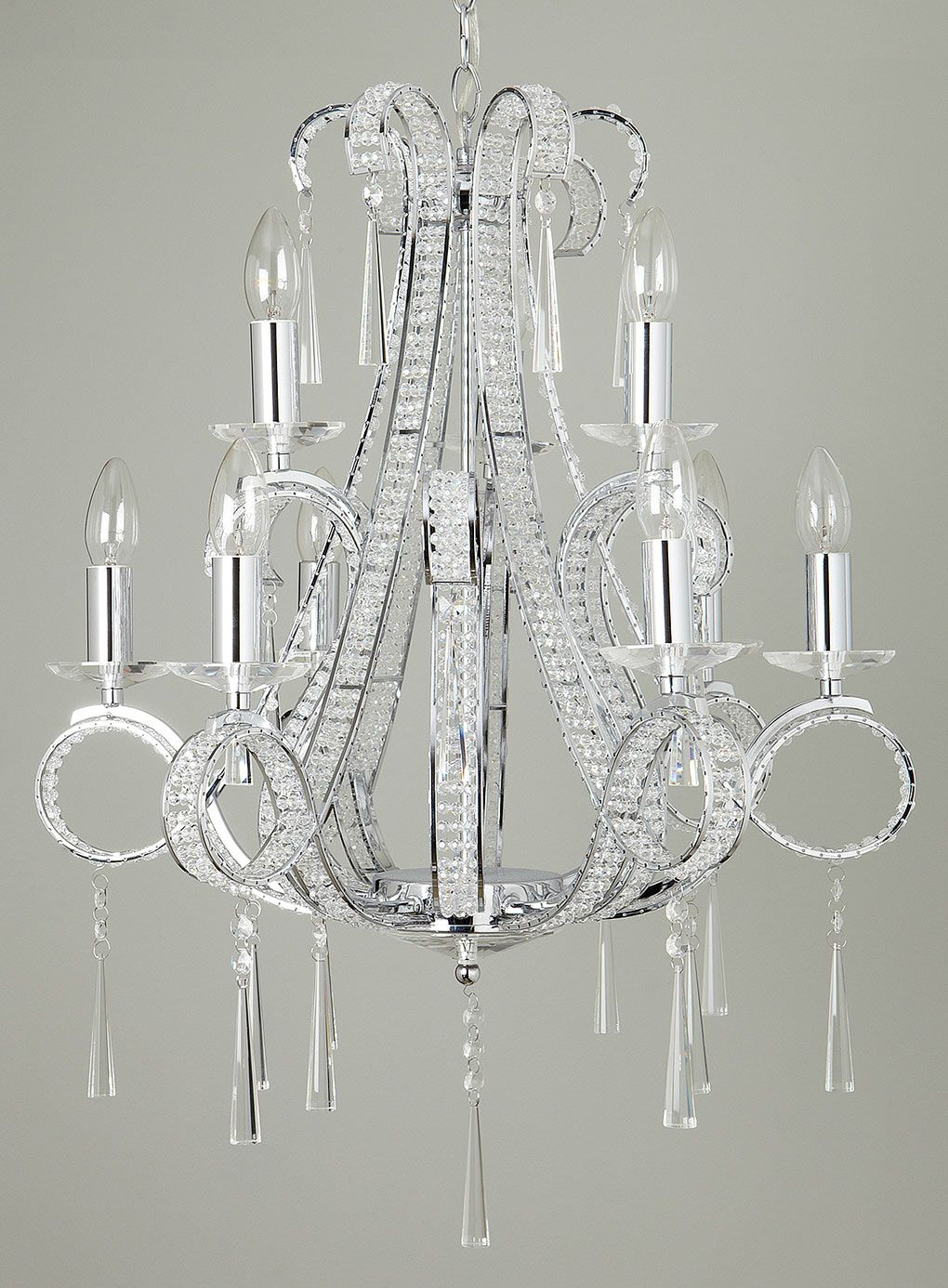 Trinity 9 Light Chandelier Chandeliers Ceiling Lights
