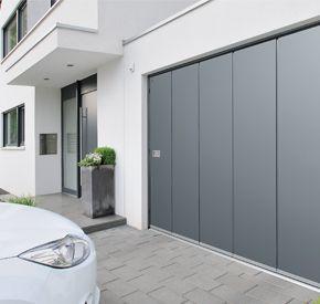 Hst Side Sliding Sectional Door Sliding Garage Doors Sectional Garage Doors Metal Garage Doors