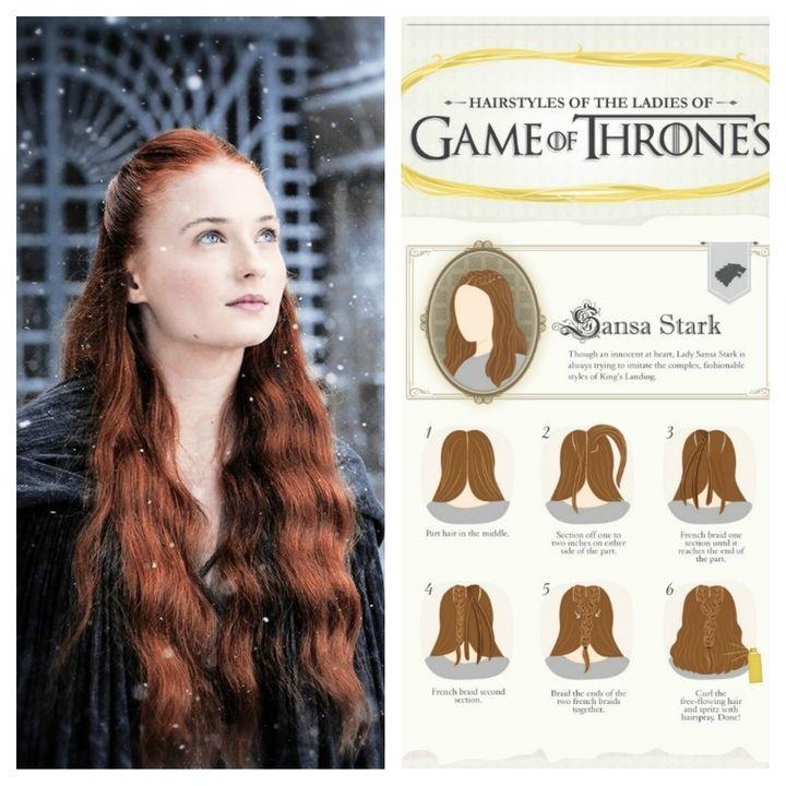 Game Of Thrones Inspired Hairstyles Haartutorial Mittelalterliche Frisuren Haar Styling